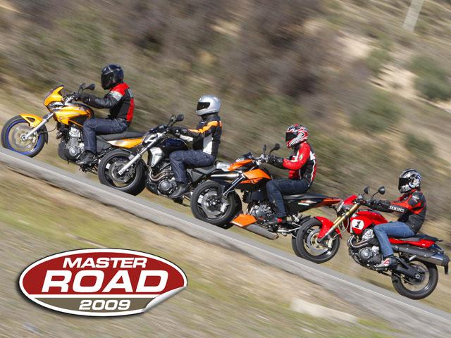 Comparativa motos Master Road 2009
