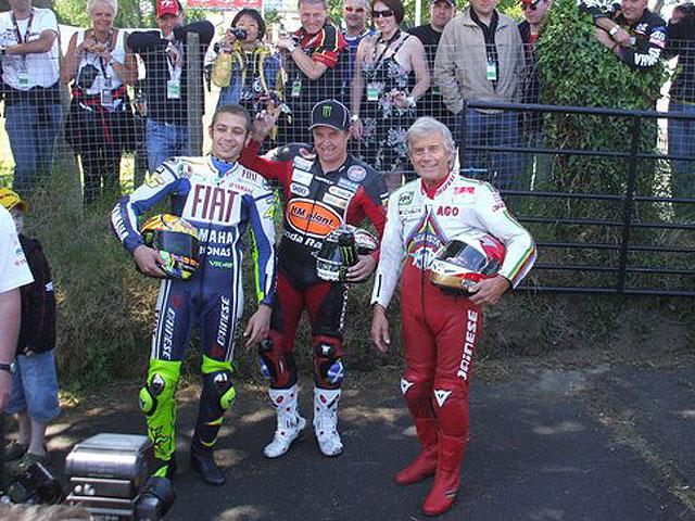 Rossi en la Isla de Man