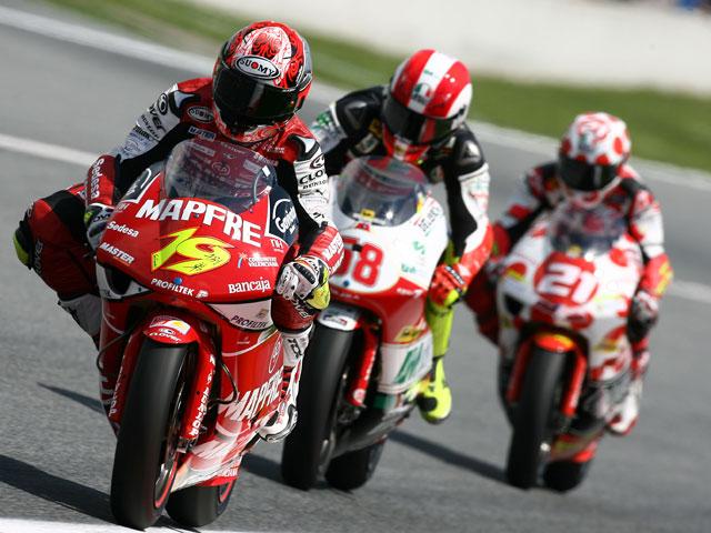 MotoGP. Montmeló recibe un Mundial al rojo vivo