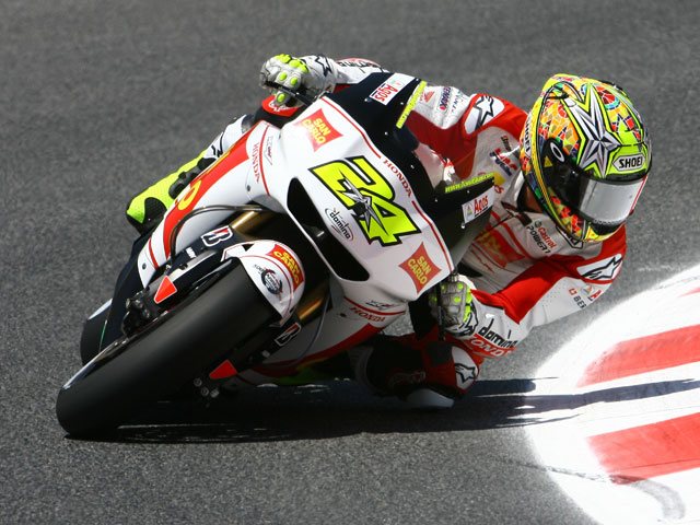 Jorge Lorenzo gana la pole a Valentino Rossi en Montmeló
