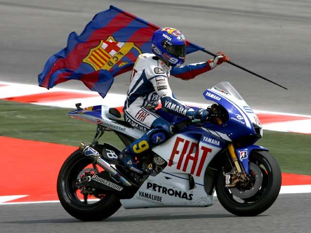 "Valentino Rossi tras el Gran Premio de Catalunya: ""Mamma mia"""
