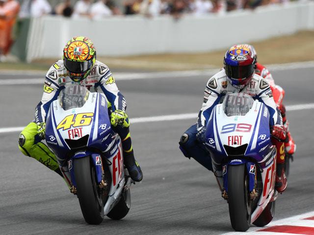 Rossi Vs Lorenzo, el duelo del año en Montmeló