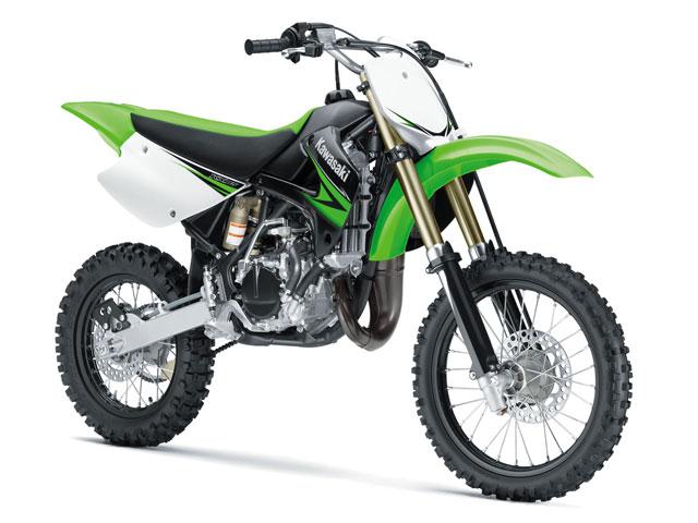 Nueva gama Kawasaki KX y KX-F de motocross para el 2010