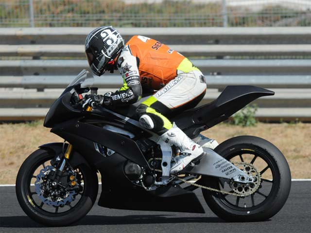 """Roberto Rolfo, """"probador oficial"""" de Moto2"""