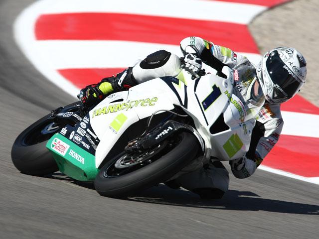 Test SBK: Ten Kate Honda rueda en Magny Cours