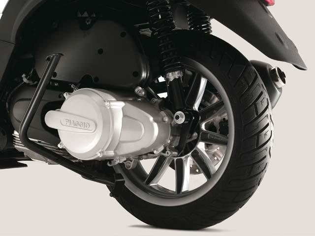 Piaggio MP3 Hybrid: un scooter con motor eléctrico y de gasolina