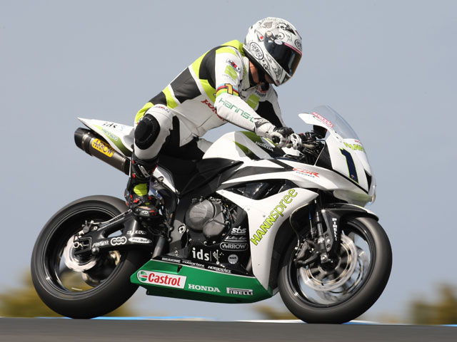 Veneman sigue en Supersport con una Honda Ten Kate '08