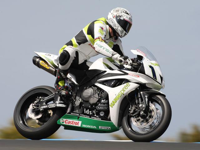Veneman sigue en Supersport con una Honda Ten Kate '08