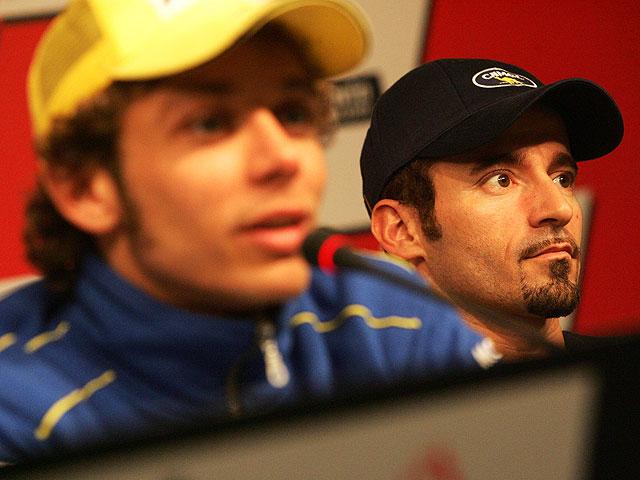 """Imagen de Galeria de Biaggi: """"Rossi se inventó una bonita victoria en Montmeló"""""""