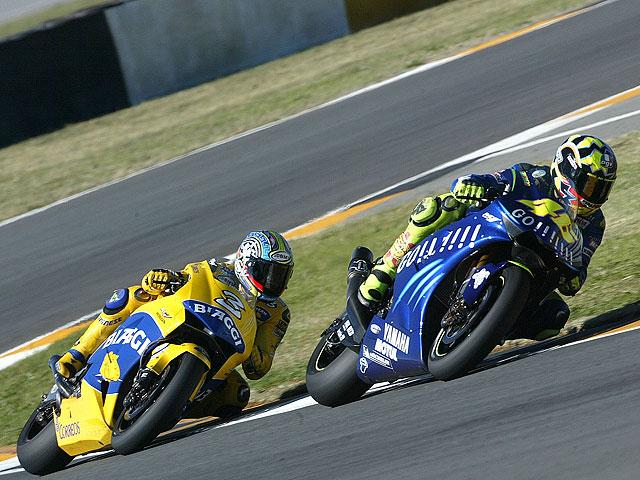 """Biaggi: """"Rossi se inventó una bonita victoria en Montmeló"""""""