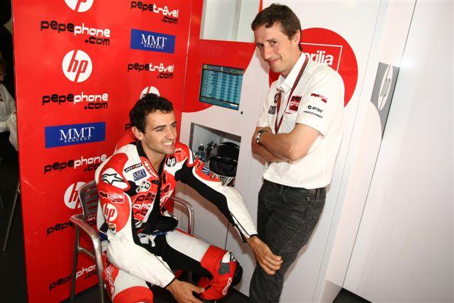 Héctor Barberá quiere estar en MotoGP en 2010