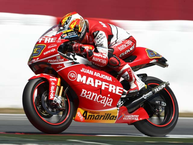 Alvaro Bautista se lleva la pole virtual del Gran Premio de Assen