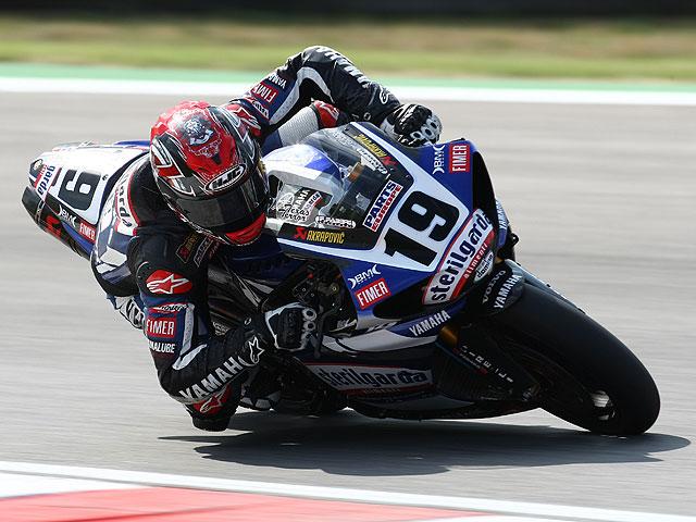 Michel Fabrizio, pole provisional en Donington Park