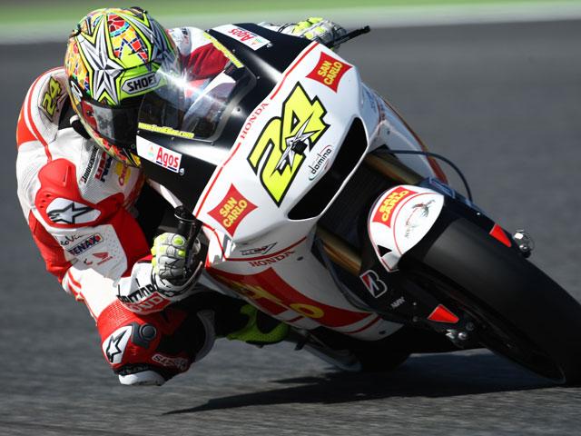 Valentino Rossi golpea primero en Laguna Seca