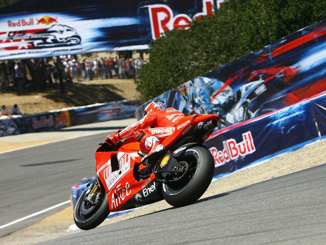 Lorenzo logra la pole en Laguna Seca antes de sufrir una fuerte caída