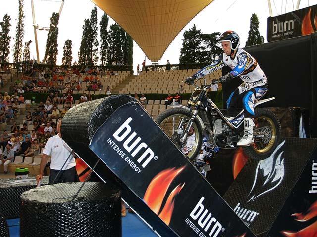 Toni Bou logra la primera victoria del Campeonato de España de Trial Indoor CETI