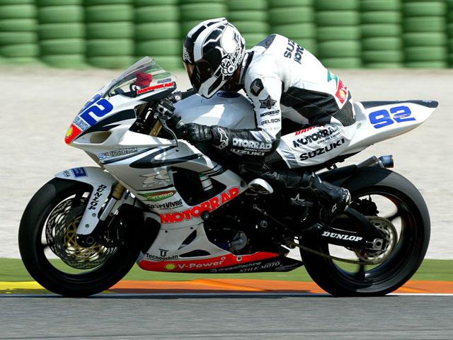 El Suzuki Motorrad preparado para la 3ª del CEV