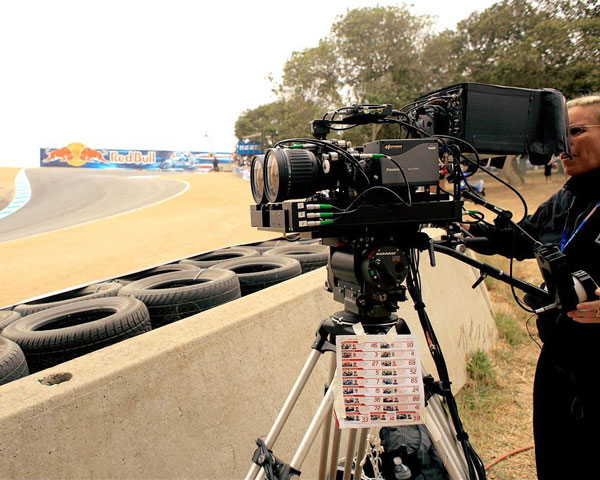 El GP de Laguna seca fue filmado en 3D
