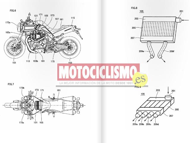 Imagen de Galeria de Yamaha patenta varios sistemas para lanzar una moto Turbo