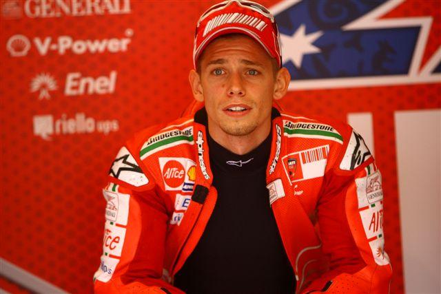 MotoGP: Stoner, todavía enfermo, estará en Alemania