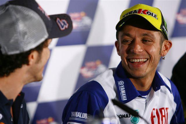 """Pedrosa: """"Estoy en mi mejor momento"""", Rossi: """"En Alemania no podemos fallar"""""""