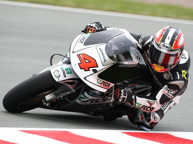 Simoncelli, el más rápido de 250 en el GP de Alemania