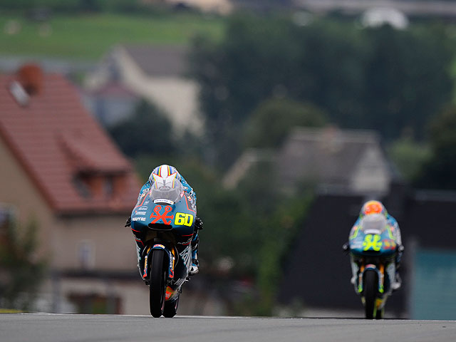 Tiranía española en 125 cc en el Gran Premio de Alemania