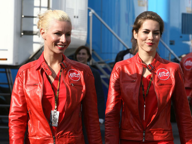 Las chicas del GP de Alemania