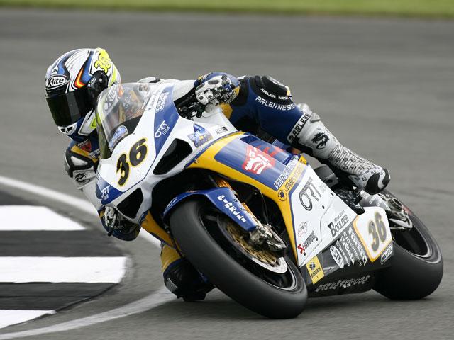 Gregorio Lavilla, sin moto en Brno