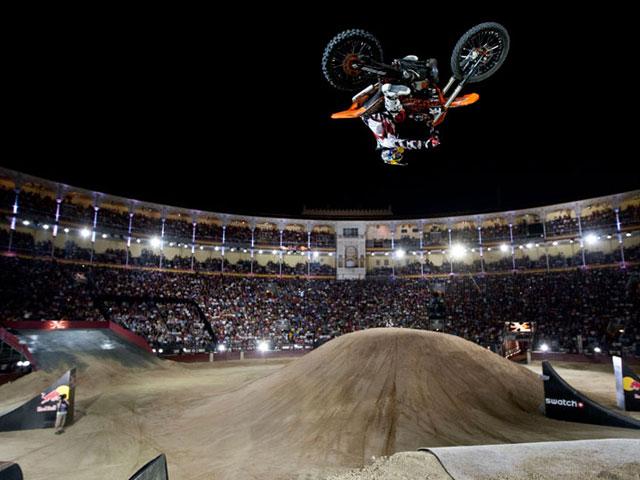 Imagen de Galeria de Las fotos del Red Bull X- Fighters de Madrid