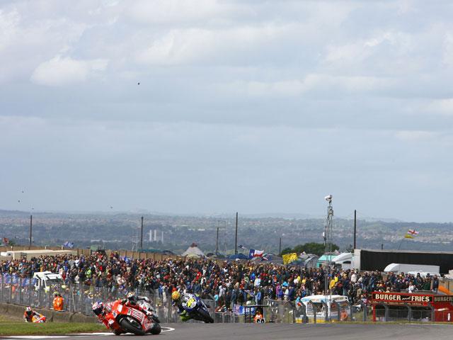 La despedida de Donington Park del Mundial de MotoGP