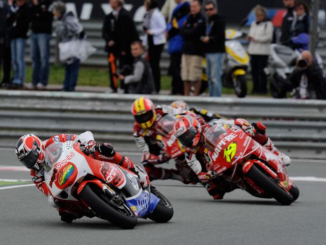 Imagen de Galeria de GP de Donington: las motos en TVE