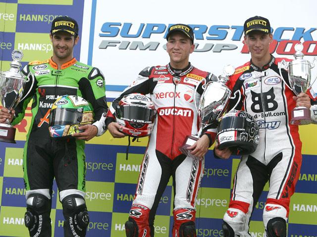 Javier Forés sube al podio de Brno en Superstock 1000