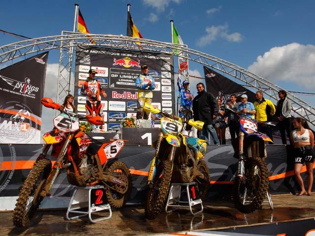 Marvin Musquin pone la directa al Campeonato del Mundo de Motocross MX2