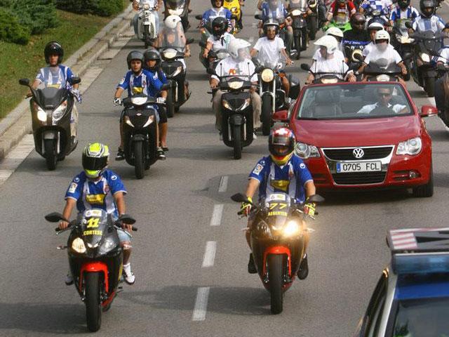 El Ajo Motorsport en la inauguración del estadio del Espanyol