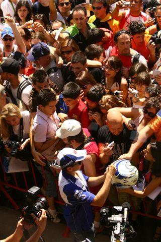 Imagen de Galeria de MotoGP: Los fans de Jorge Lorenzo viajarán a Brno