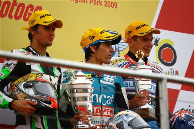 Los pilotos de 125 y 250 en Brno