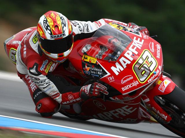 Simoncelli, el más rápido de Brno