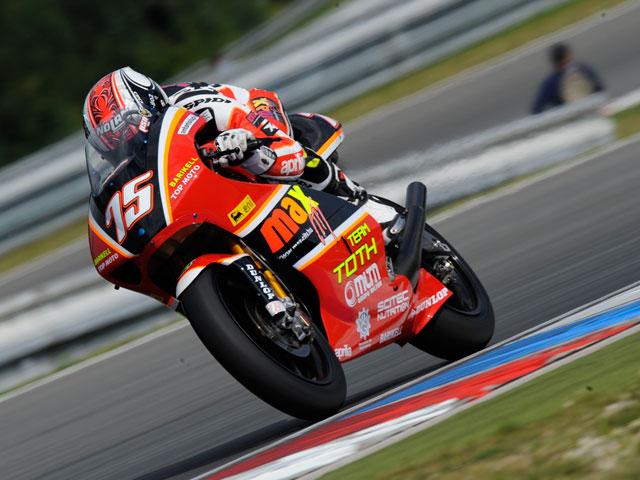 Marco Simoncelli, tercera victoria de la temporada en Brno