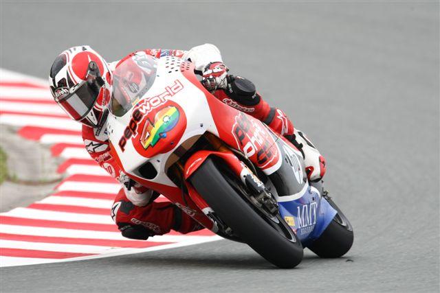 Barberá y Aspar vuelven a unirse en MotoGP 2010 con Ducati