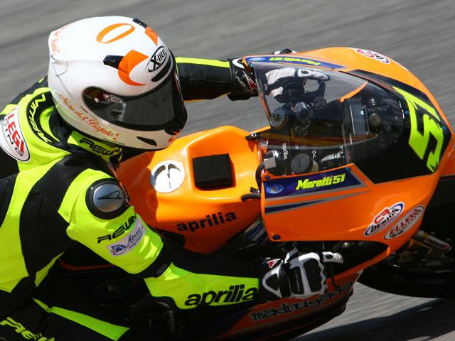 Pirro y Moretti campeones italianos de Supersport y 125GP