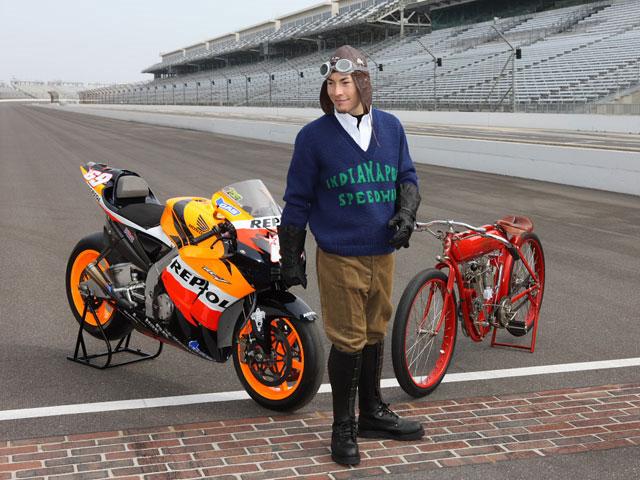 Kevin Schwantz rodará en el Circuito de Indianápolis
