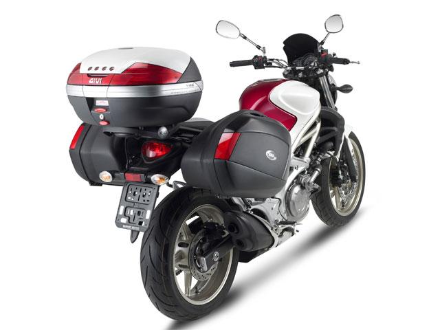 Imagen de Galeria de Givi presenta sus accesorios para la Suzuki Gladius