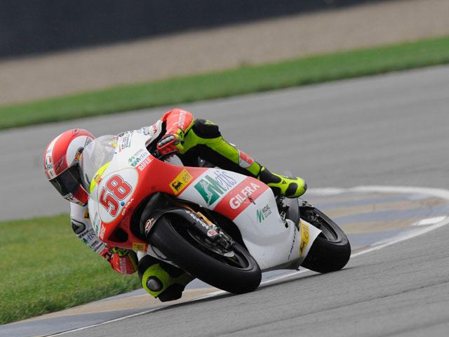 Dani Pedrosa (Honda) lidera los entrenamientos libres de Indianápolis