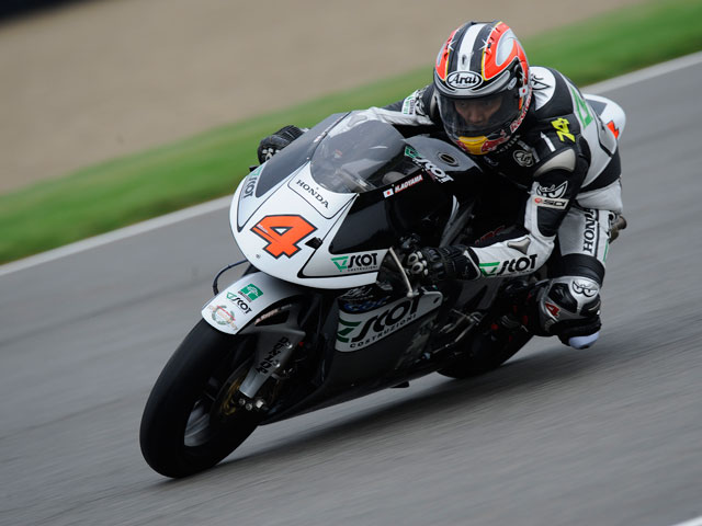 Mike Di Meglio se lleva la pole de 250cc en Indianápolis
