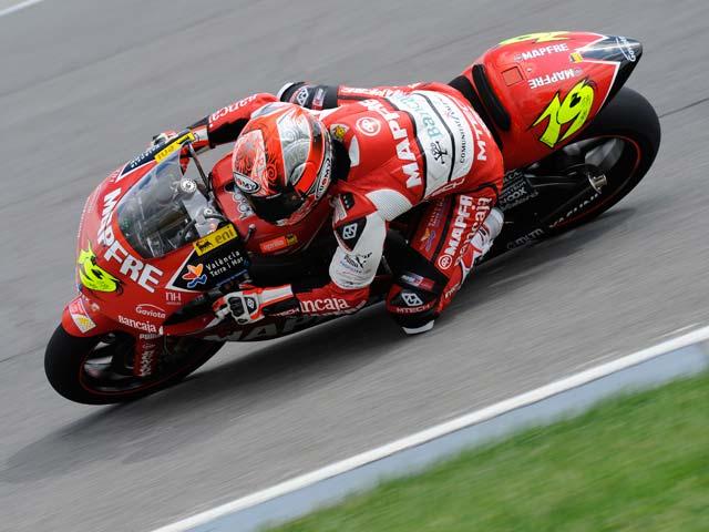 Victoria de Simoncelli en el GP de Indianapolis