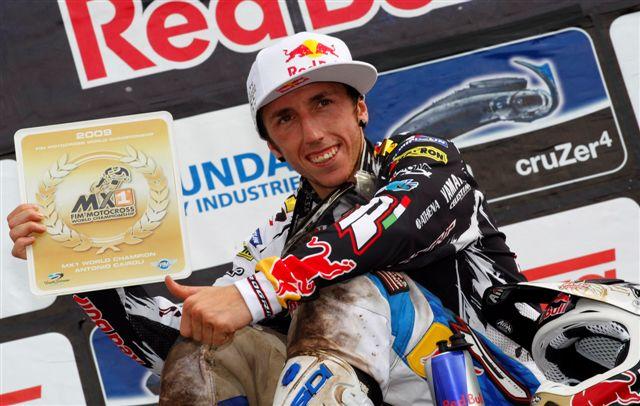 Antonio Cairoli, campeón del mundo de MX1 en Lierop