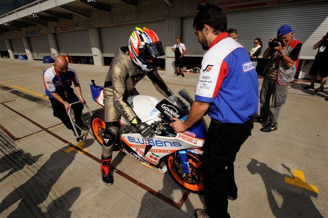 Imagen de Galeria de Schwantz probó la Moto2 de BQR en Indianápolis