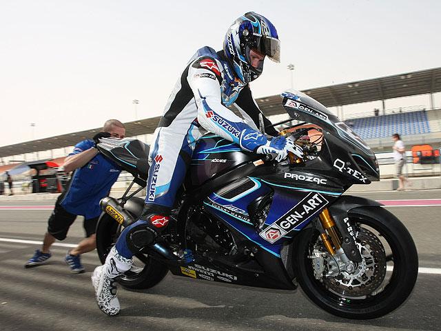 El Celani Suzuki no estará en Nürburgring