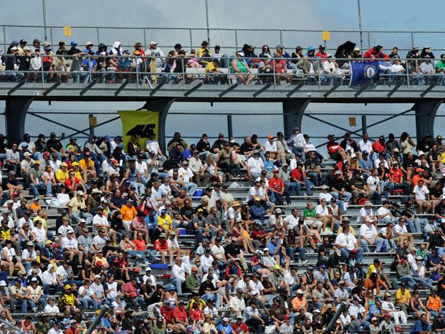 El ambiente del Gran Premio de Indianápolis